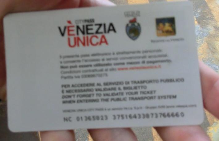 ヴェネツィアヴァポレット24時間券