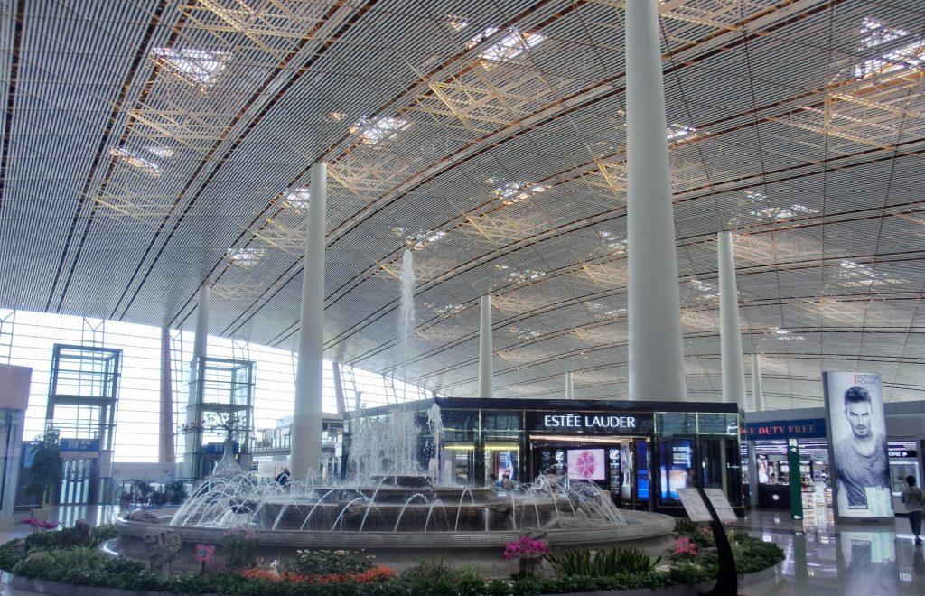 中国国際航空はなぜ安い?の理由!参考画像の北京空港