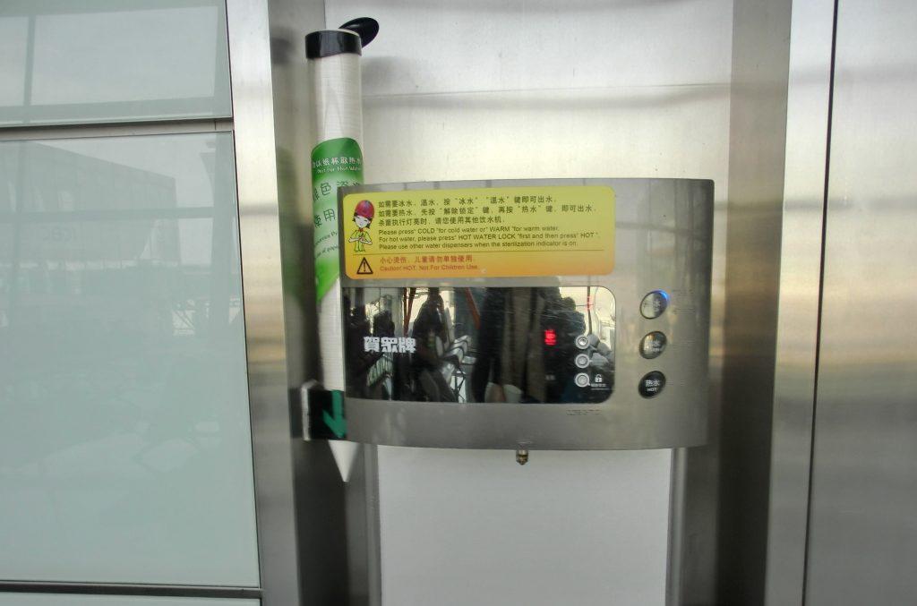 中国国際航空での乗り換え地である北京空港