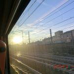 ローマからフィレンツェまで移動するイタロ