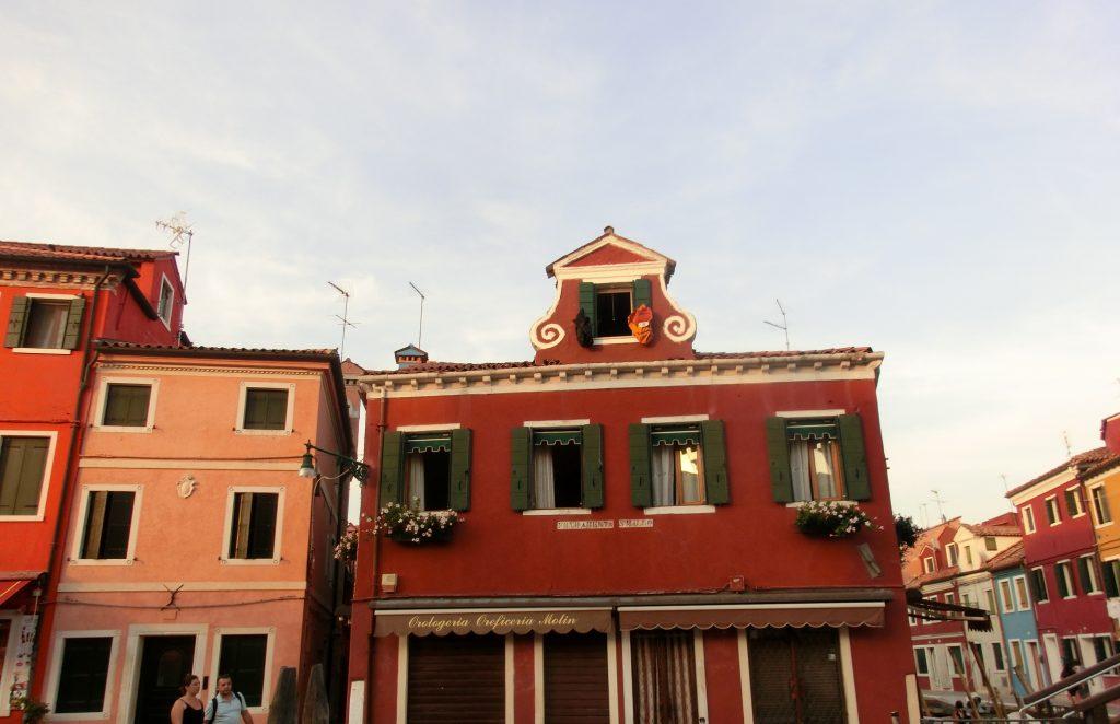 ブラーノ島の建物はとにかく可愛い