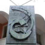 パドヴァ大学の有名人の石碑