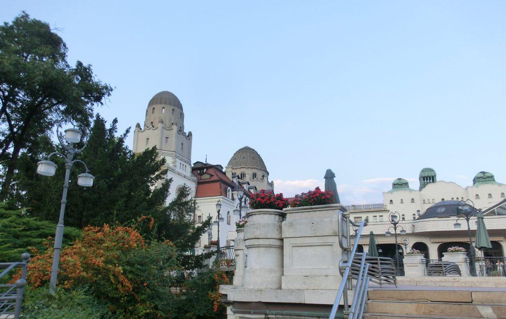 ブダペストのゲッレールト温泉の景色