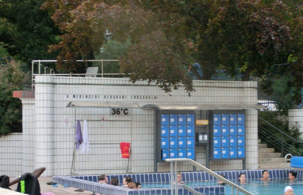 癒しのブダペストのゲッレールト温泉