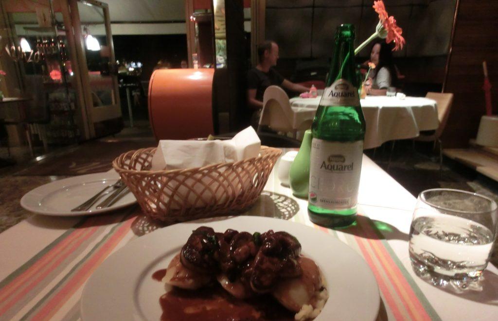 ブダペストの人気レストラン「メンザ(Menza)」のフォアグラ