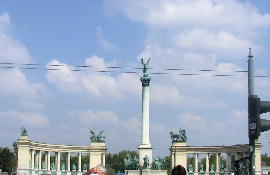 ハンガリー・ブダペストの街並み