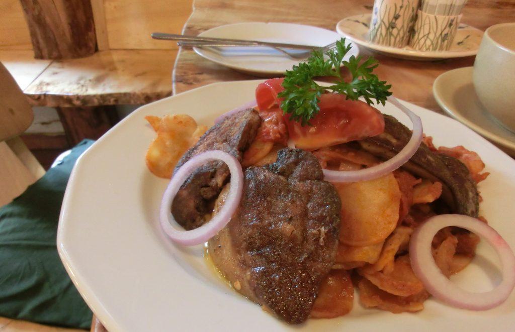 ブダペストのおすすめレストラン「パプリカ」のフォアグラ