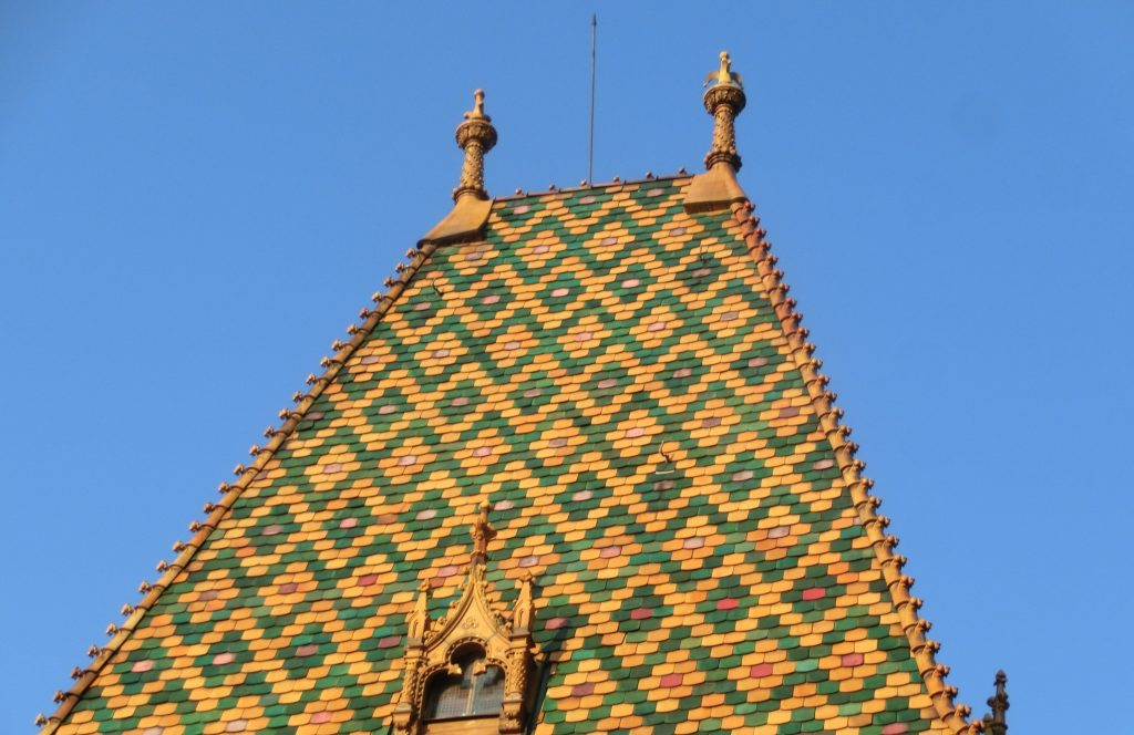 ブダペスト中央市場の屋根