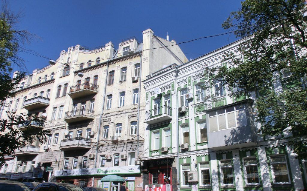 キエフの観光・街中の美しい建物