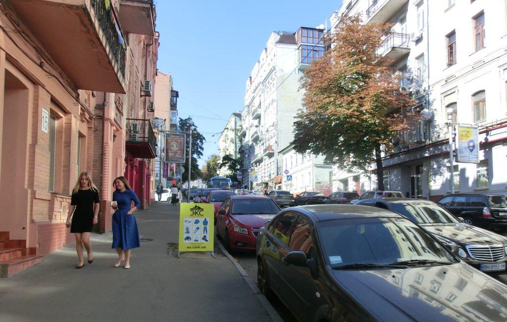 キエフの観光でキエフの街をブラブラ