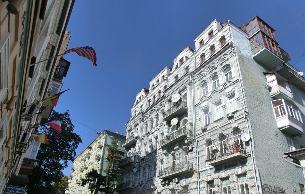 キエフの観光・街中のこだわりを感じる建物