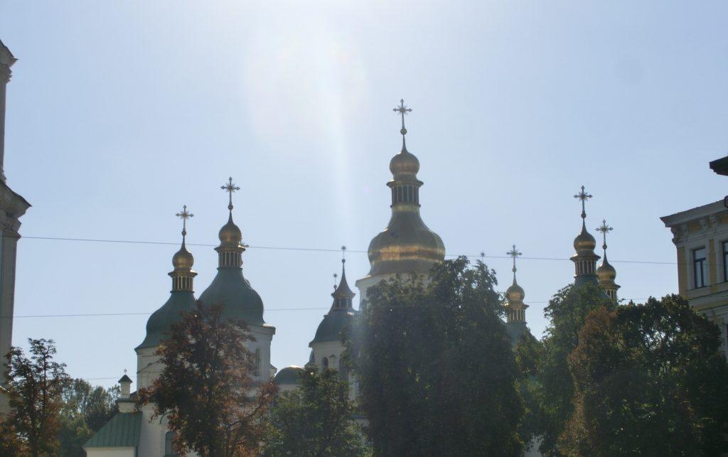 キエフの観光・有名な観光スポット「ソフィア大聖堂」
