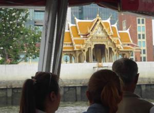 バンコクの水上バス
