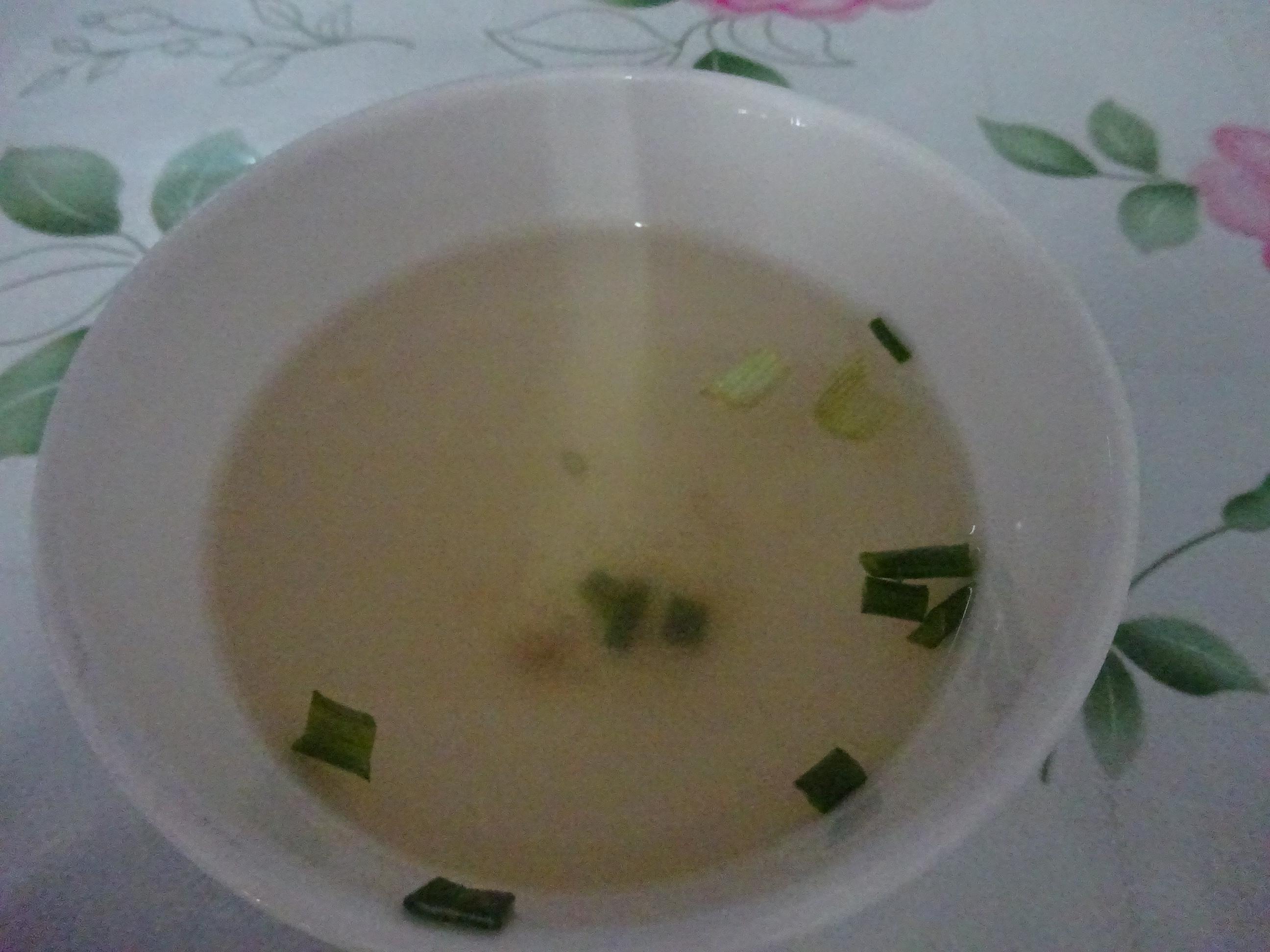 ラオスのレストランのスープ