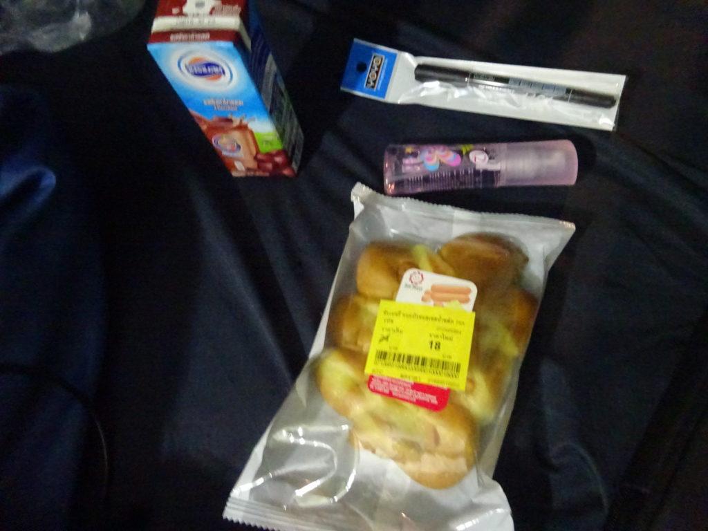 チェンマイのスーパーで買った品物