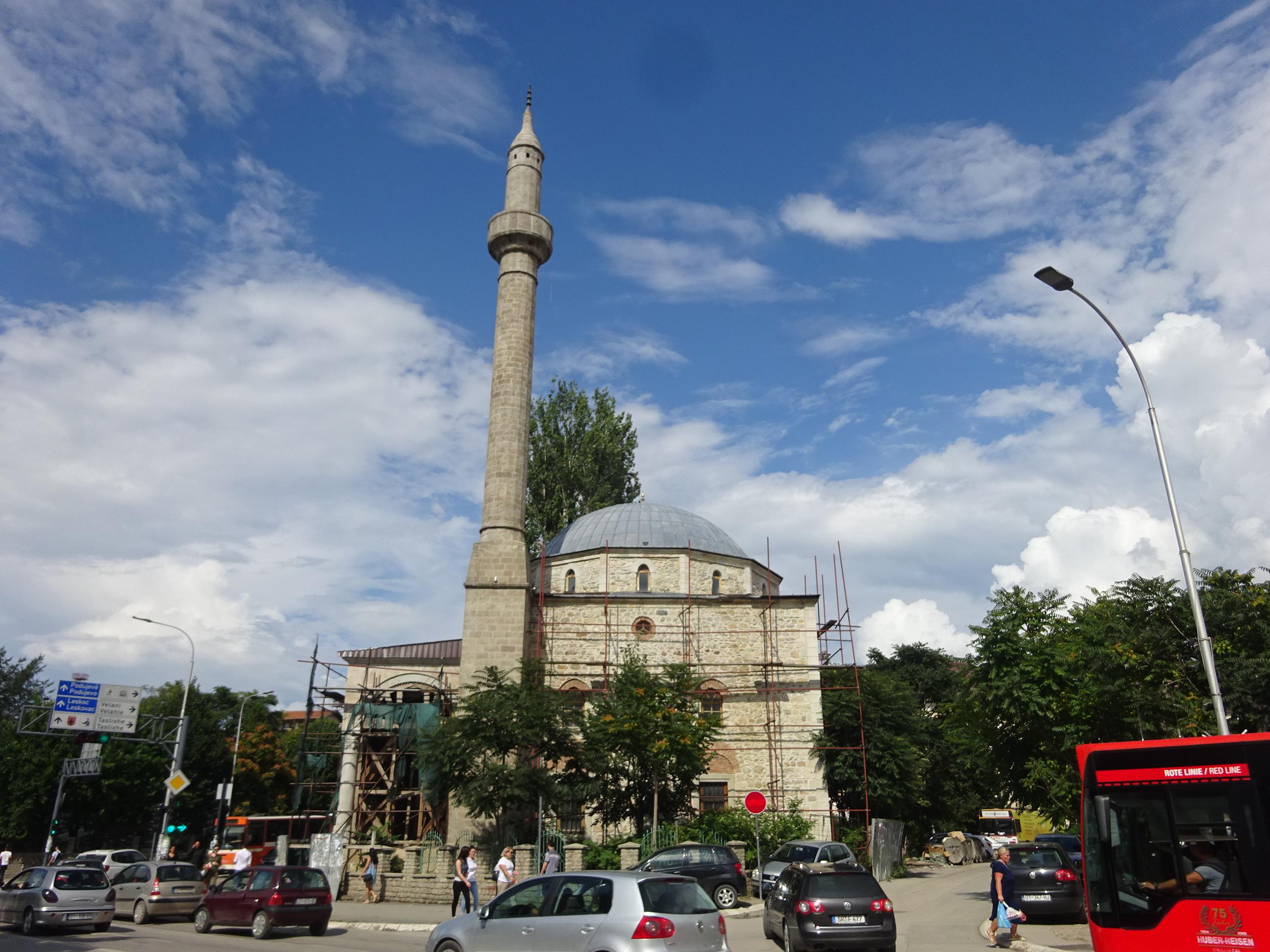 コソボの首都プリシュティナのモスク