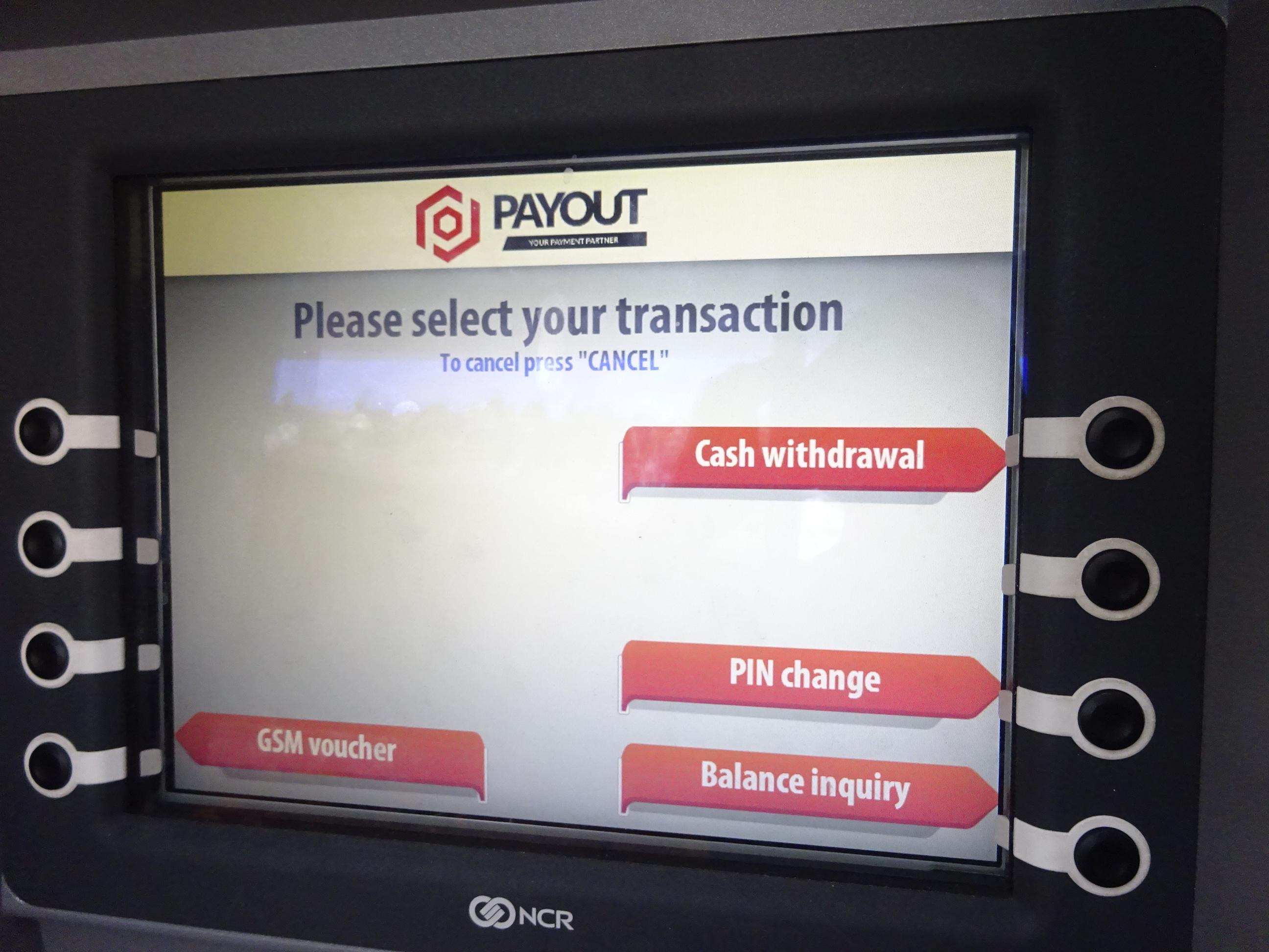 海外ATMの使い方・キャッシング操作方法・現金引き出し