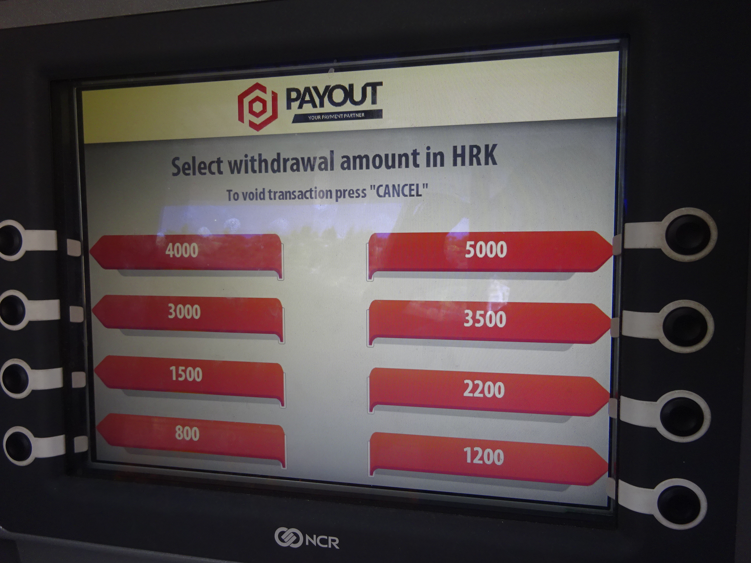 海外ATMの使い方・キャッシング操作方法・通貨をいくらおろすか?