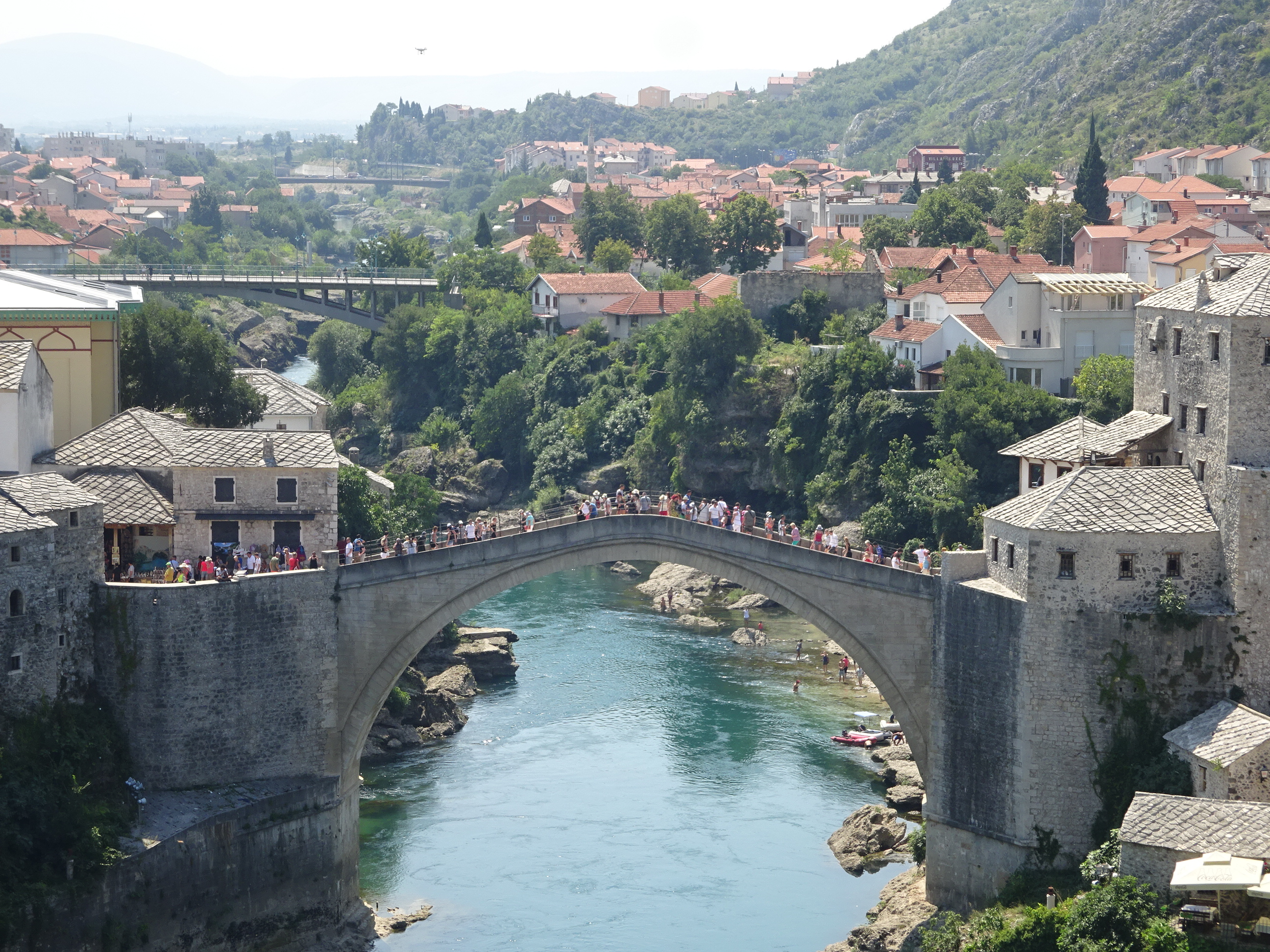モスタルの「古い橋(スタリ・モスト)」の画像