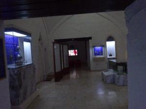 モスタル「ハマムミュージアム」の内部
