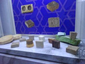 モスタル「ハマムミュージアム」石鹸の展示品