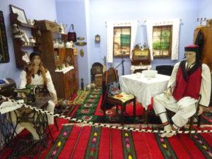 モスタルの博物館「BosnaSeum」の展示品