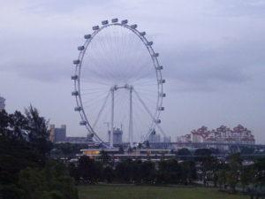 シンガポールの有名観光スポット「シンガポールフライヤー」