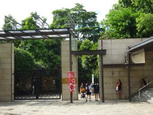 シンガポール植物園(ボタニック ガーデンズ)の入り口付近
