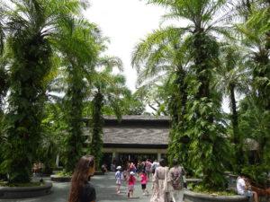 シンガポール植物園(ボタニック ガーデンズ)の出入り口