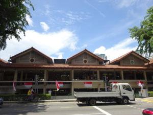 シンガポールのホーカーズ「Berseh Food Centre」