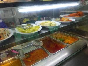 シンガポールのローカルフード、インド料理屋さん