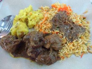 シンガポールのローカルフード「インド料理」