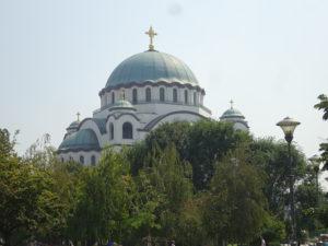 ベオグラードが誇るイチオシ観光スポット「聖サヴァ大聖堂」のフォルム素晴らしい