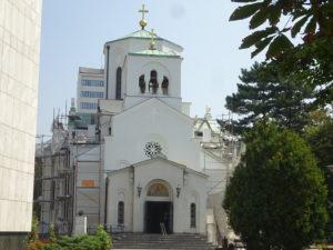 ベオグラードの観光おすすめ「聖サヴァ大聖堂」の近くにある別の教会