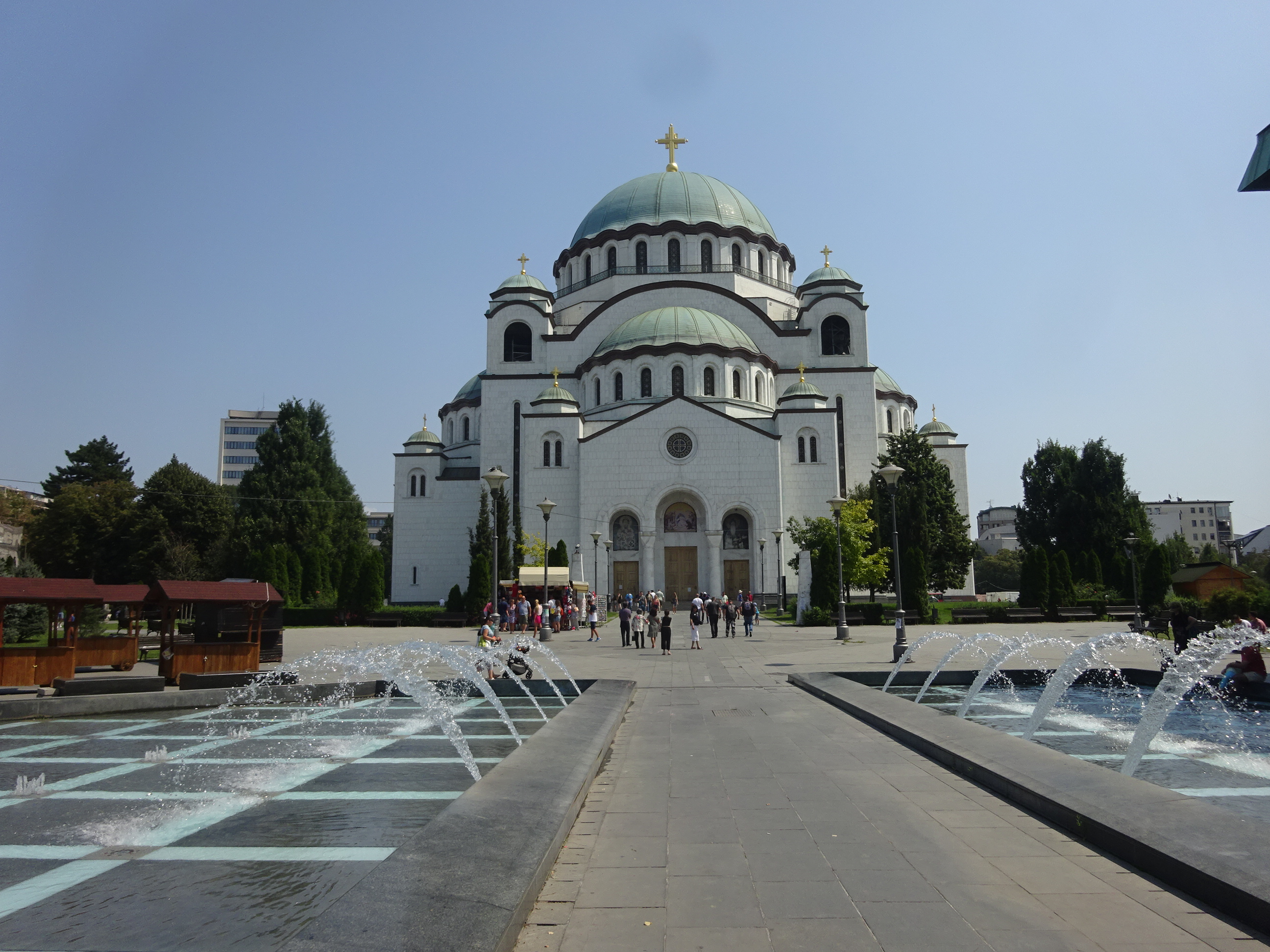 ベオグラード観光ではハズせない「聖サヴァ大聖堂」は美しい☆