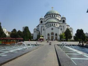 ベオグラードの観光では「聖サヴァ大聖堂」に行くっきゃない☆