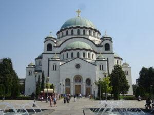セルビアのベオグラードの観光でかかせない「聖サヴァ大聖堂」