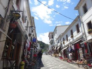 アルバニアのジロカストラの街並み