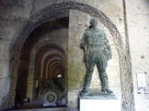 ジロカストラ城の中のカッコイイ場所
