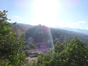 アルバニアの世界遺産ジロカストラの眺め