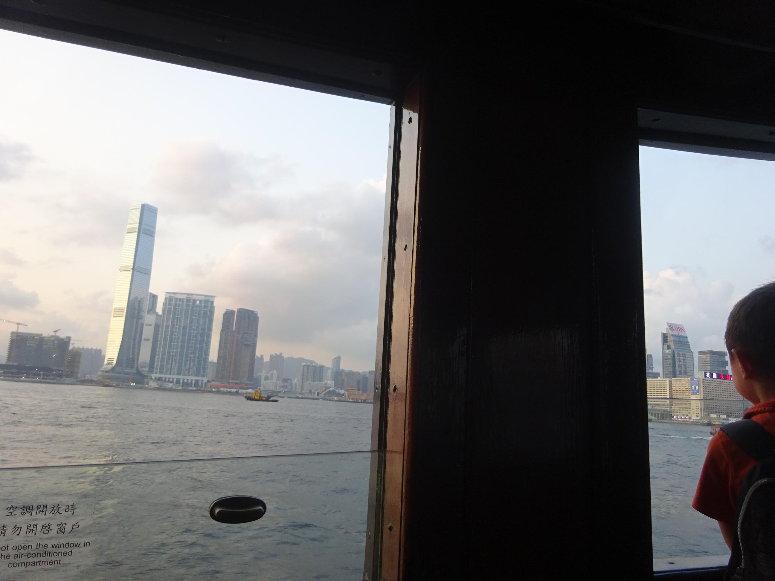スターフェリー(天星小輪・Star Ferry)からの景色
